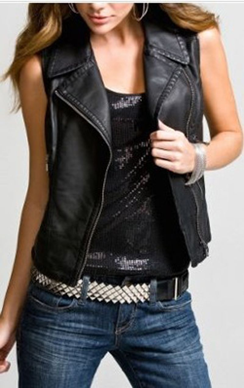 I love rocker clothing and its very casual if I am in mood ...