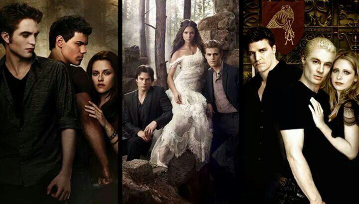 Twilight saga / The vampire diaries / Buffy The vampire slayer
