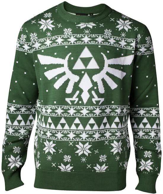 Mario Kersttrui.Difuzed Zelda Kersttrui Maat S Groen Carnavalskleding Things I