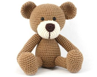 Amigurumi Teddy Bear Free Patterns : Download now crochet pattern teddy bear pdf 102 crochet and