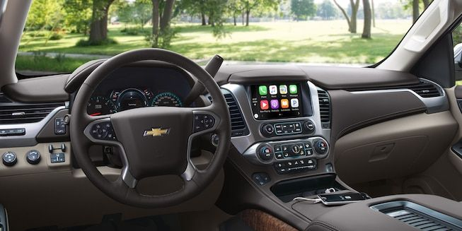 Interior of Chevy Tahoe | Cars | Chevrolet tahoe, Large ...
