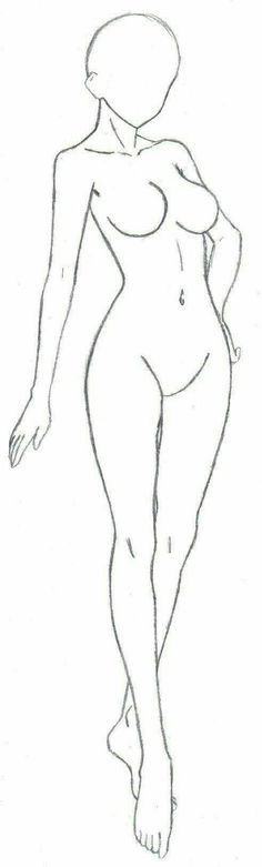 Girl Body Female How To Draw Mangaanime Thick Woman