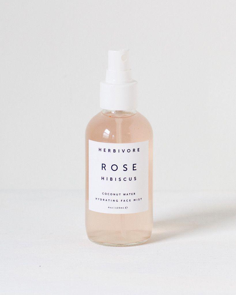 { herbivore botanicals rose hibiscus coconut water hydrating face mist }