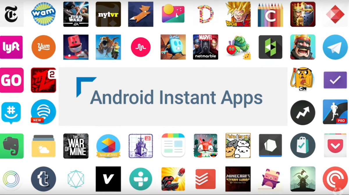 "Google Play Store Showcases Android Instant Apps with ""Try"