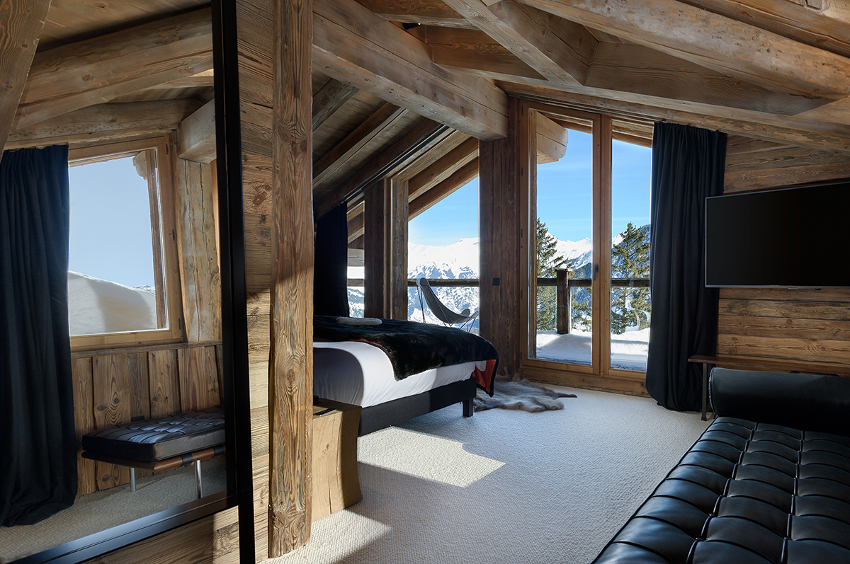 Chalet Snjor Courchevel 1850 Luxe Chambre Master
