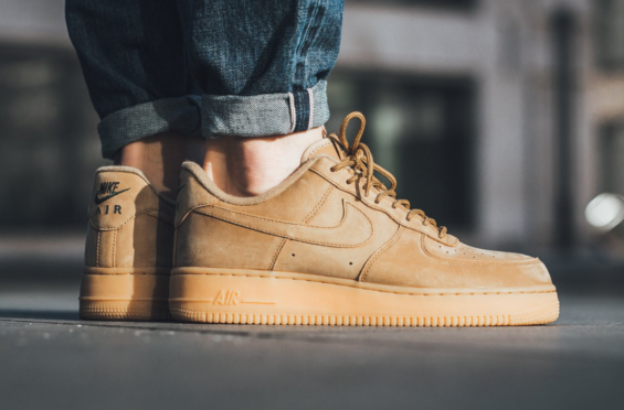 Now Available: Nike Air Force 1 Low Flax
