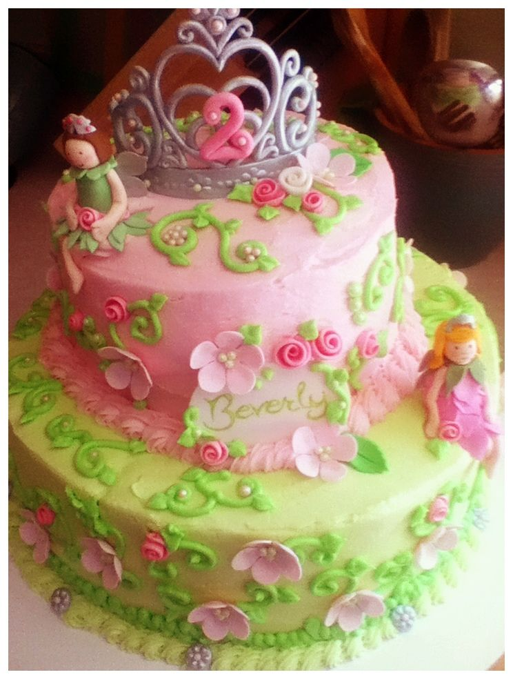 Fairy Princess Cake Images : Fairy princess cake Cakes Pinterest Princess cakes ...