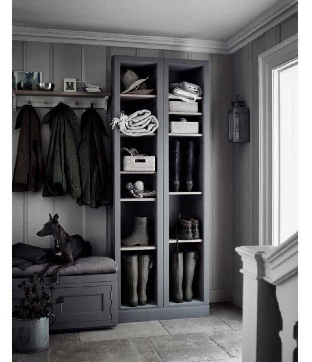 Hallway coat closet  Pin by Jessica Jonew on Dream decor  Pinterest