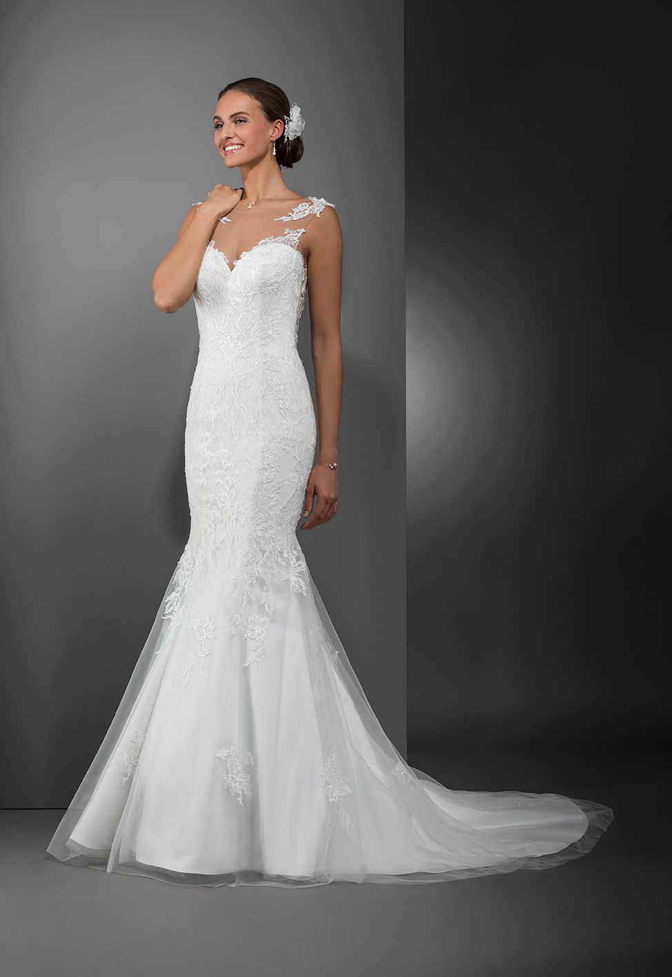 541f2f6f4fe78 Robe de mariée Dubaï | Robes de mariée Collection 2018 | Robe mariée ...