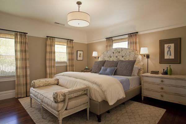 decoracion dormitorios en colores neutros