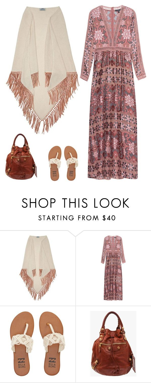 """""""Sans titre #6554"""" by youngx ❤ liked on Polyvore featuring Bajra, For Love & Lemons, Billabong and Balenciaga"""