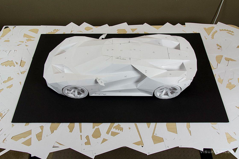 форд из бумаги картинки менее