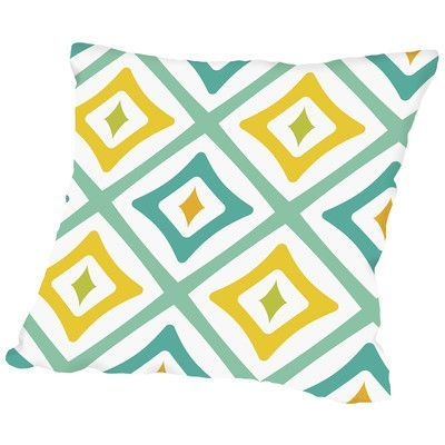 Americanflat Throw Pillow Size: