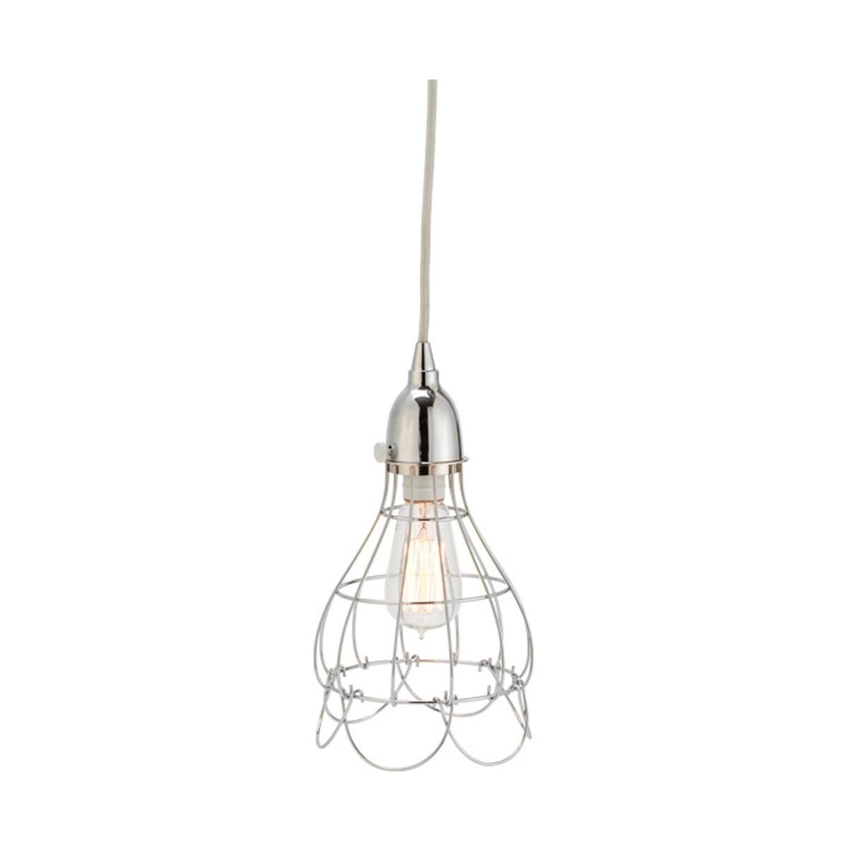 Industrial Cage Work Light Pendant 3 finishes!