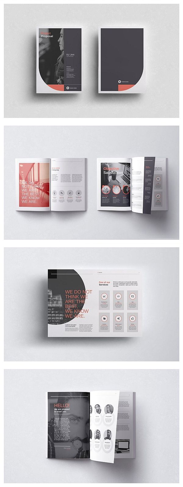 Project Proposal Template 006 #editoriallayout