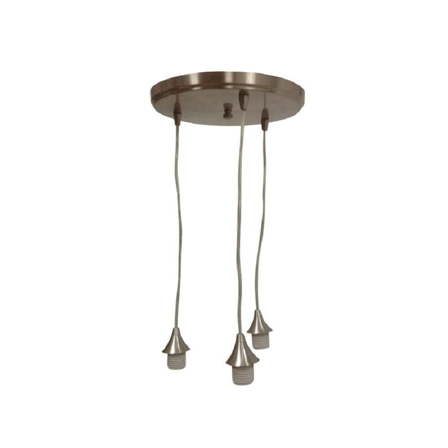 Portfolio 118 in brushed nickel mini pendant a beautiful new portfolio brushed nickel mini pendant at lowes brushed nickel finish is sleek and classic aloadofball Gallery