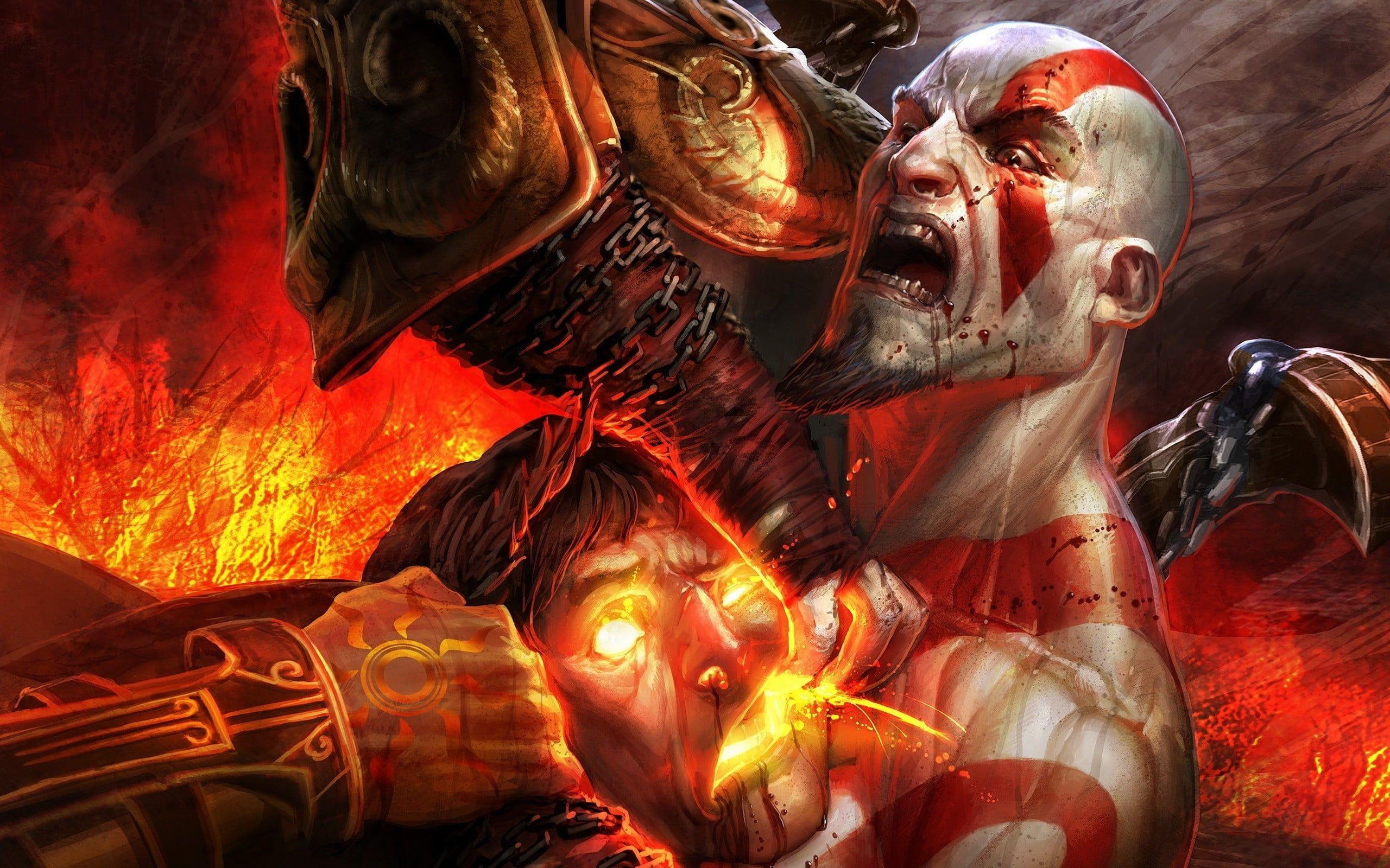 God Of War Kratos Wallpaper God Of War Kratos Video Games God Of War Iii 2k Wallpaper Kratos God Of War God Of War Kratos Wallpapers God Of War Hd Wallpaper