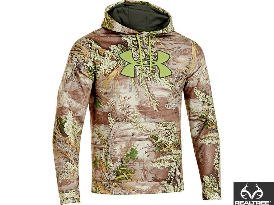 56883cd54d1b6 New Under Armour Mens Hoodie in Realtree Max-1 Camo #Realtreecamo ...