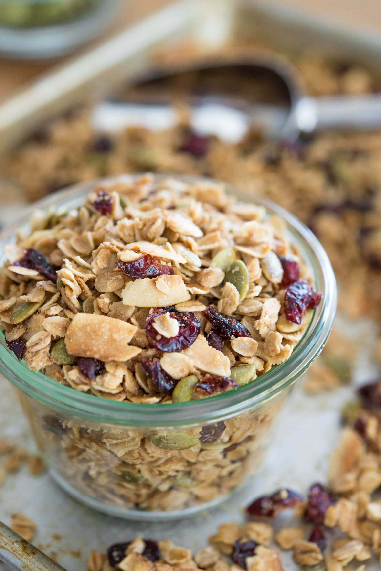 How To Make Magnificent Granola Recipe Homemade Granola Food Recipes