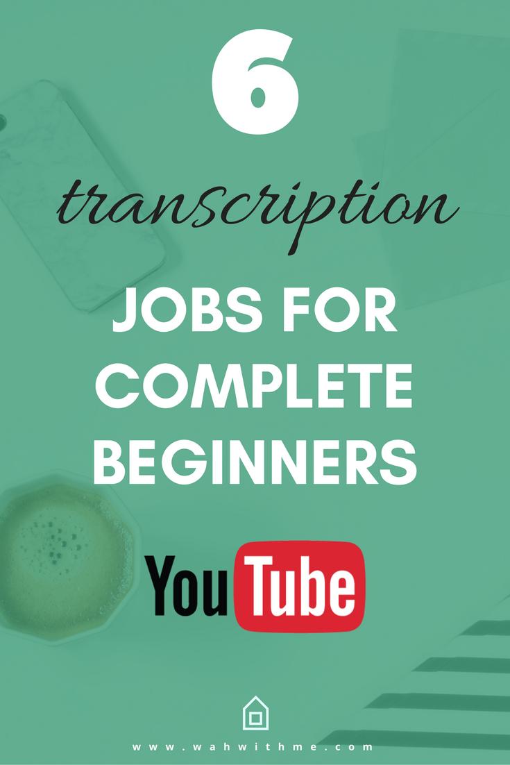 Transcription work online