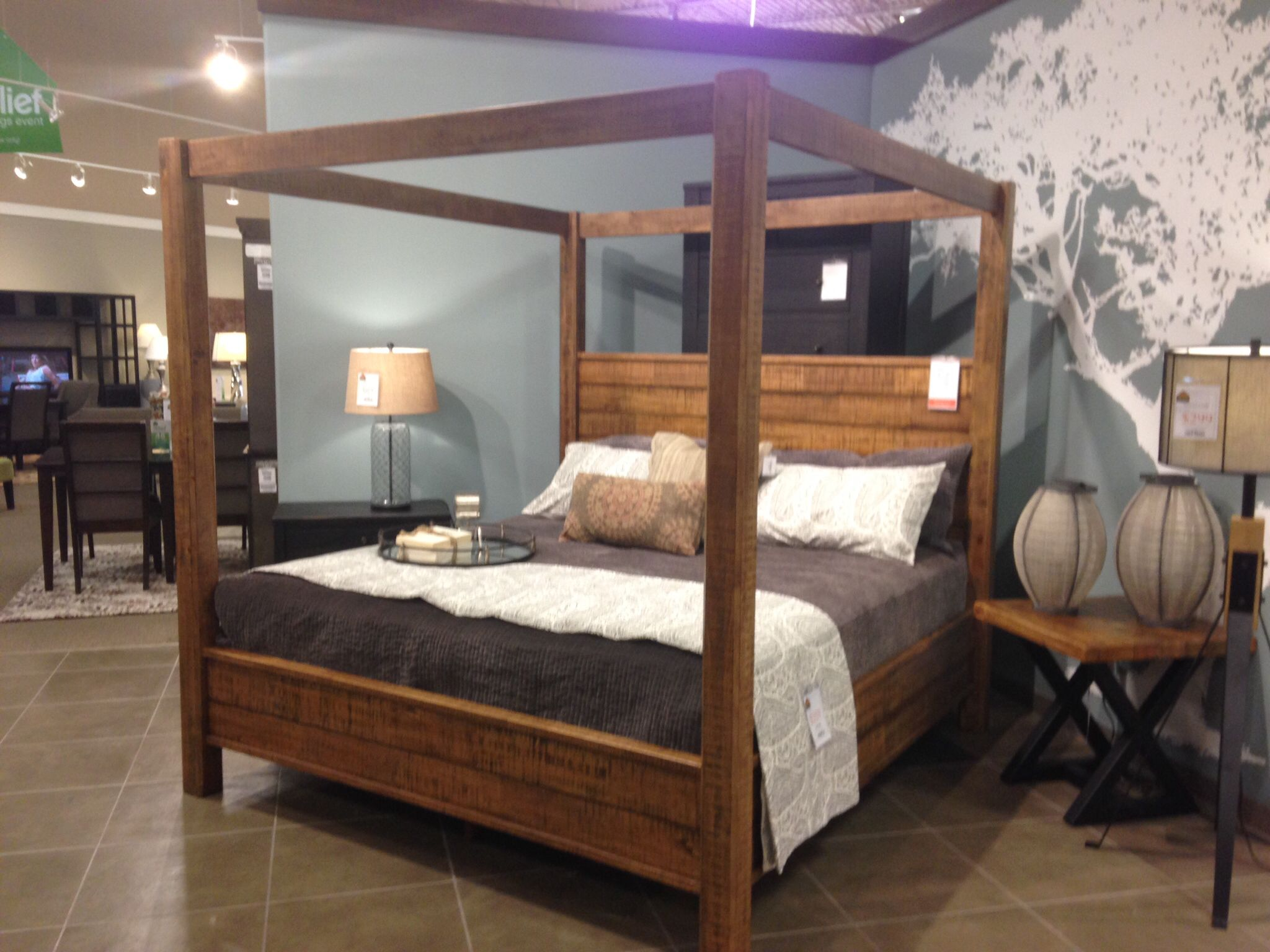Ashley rustic bedroom furniture - Furniture