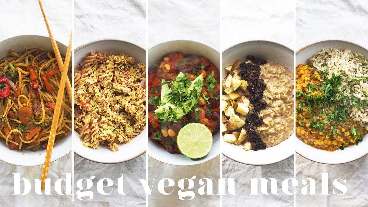 5 Vegan Meals Under 1 1 50 Budget Friendly Recipes For Beginners Vegan Recipes Uk Cheap Vegan Meals Whole Food Recipes
