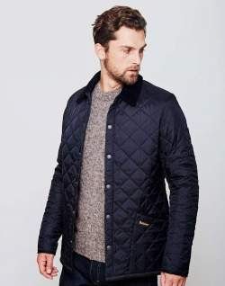 The Top 8 Men's Trends for A/W 2017 | Barbour and Quilted jacket : mens navy quilted coat - Adamdwight.com