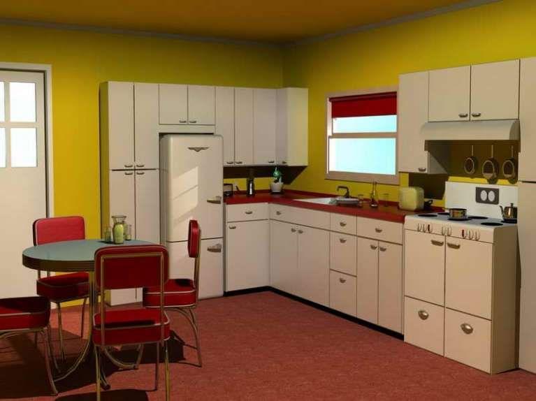 Cucine vintage Anni \'50 - Cucina bianca vintage Anni \'50 | Cucina ...