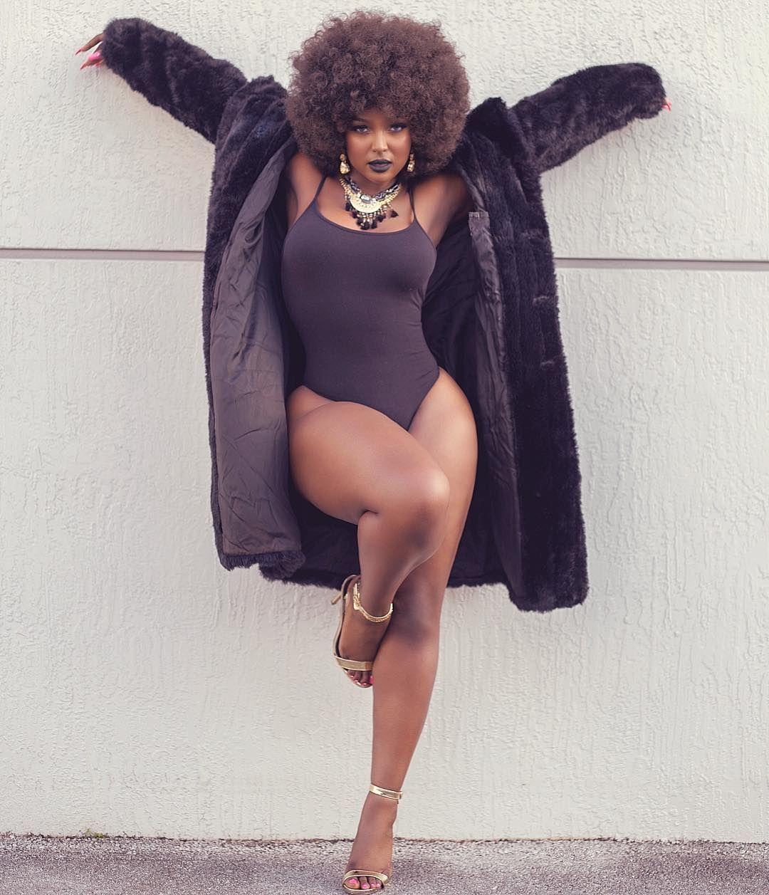 Amara La Negra Naked pin on curvy women - past and present
