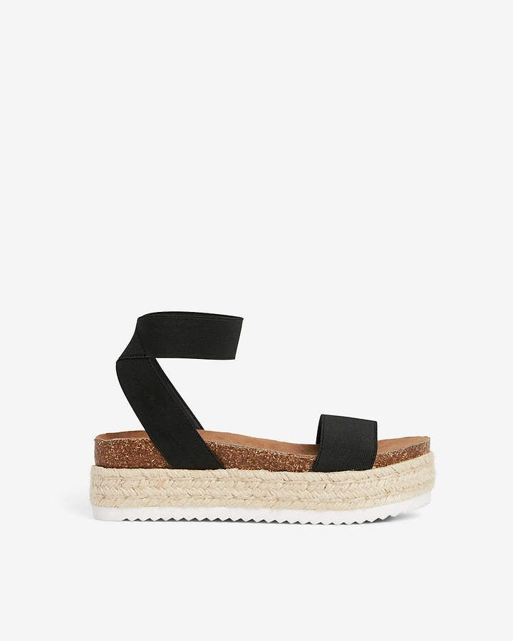 713c60244ef Express Stretch Strap Platform Espadrille Sandals   ~Swimsuits~ in ...