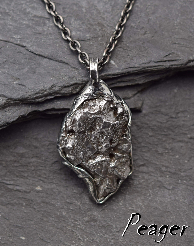Meteorite pendantmen necklacemetal pendantnatural argentina meteorite pendantmen necklacemetal pendantnatural argentina meteoritewomen necklacemetalwork meteorite necklacemeteorite jewel aloadofball Image collections