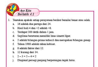 Jawaban Lengkap Ayo Kita Berlatih Bab 4 Plsv Dan Ptlsv Matematika Kelas 7 Matematika Kelas 7 Matematika Buku