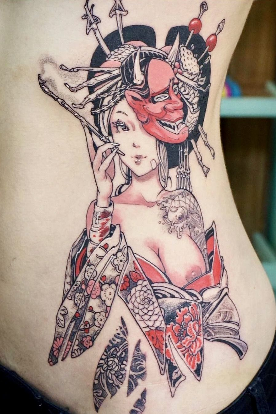 Crazy Cool Japanese Tattoo Pinup Geisha Tattoo Design Tattoos Japanese Girl Tattoo