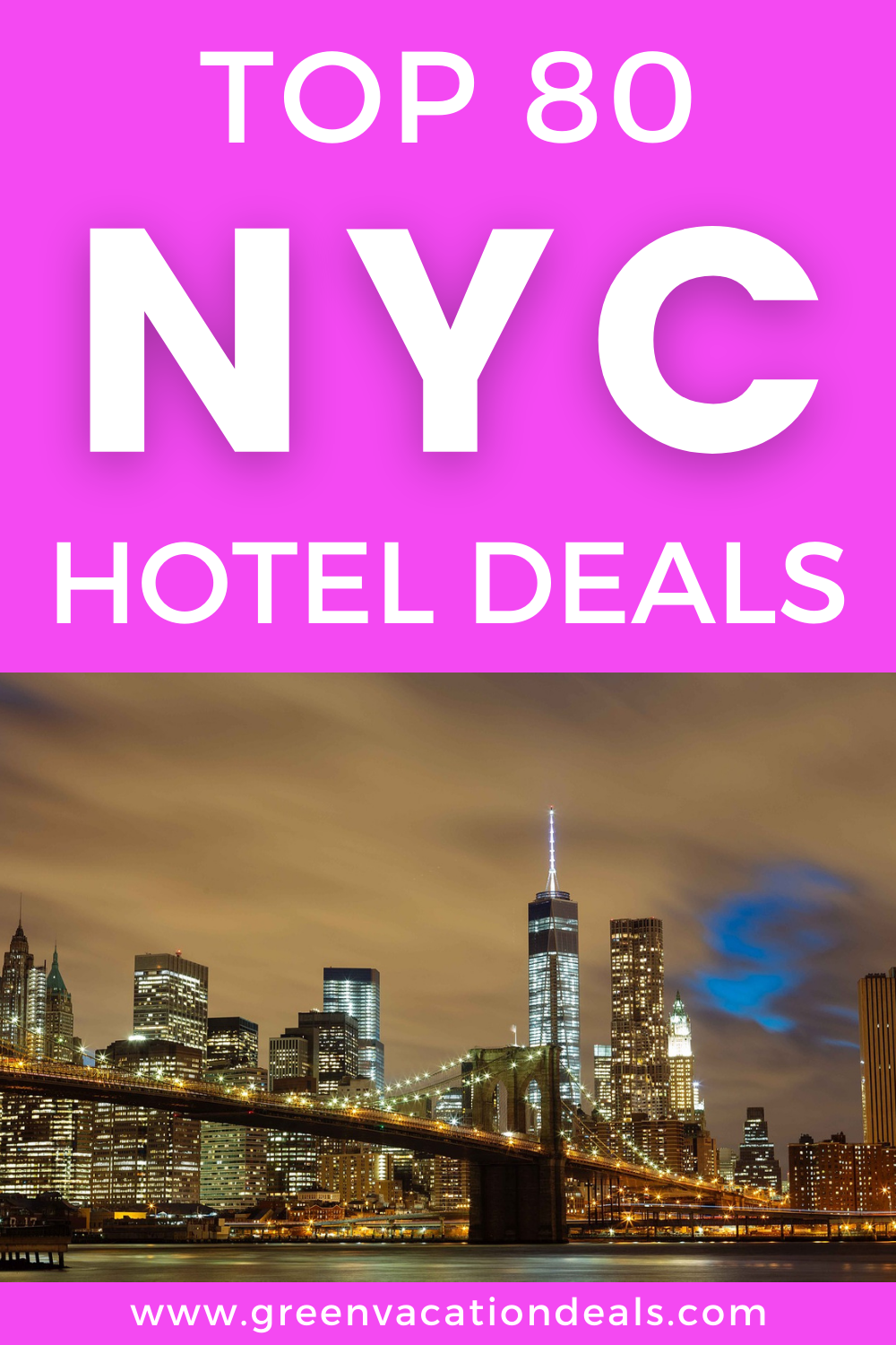 80 amazing New York City hotel deals. Up to 56% off NYC hotels in Central Park, Midtown, Times Square, East Village, Long Island, Park Avenue, Manhattan, Chelsea, Soho, West Side, etc. Great northeast USA travel hacks. #NewYorkCity #NYC #HotelDeals #TravelDeals #TravelSale #HotelSale #BigApple #Manhattan #UStravel #USAtravel #NewYork #NY #CentralPark #Midtown #TimesSquare #budgettravel #budgettrip