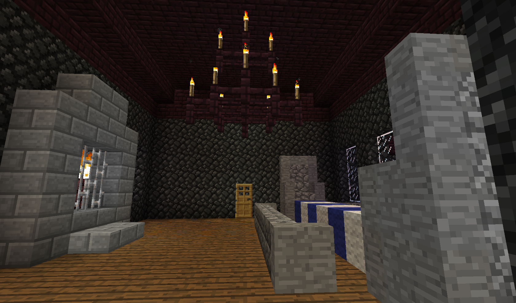 Game Of Thrones Style Minecraft Dining Room