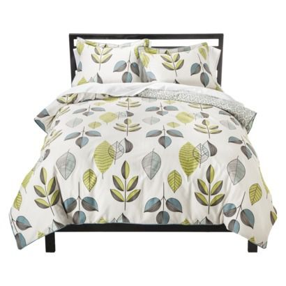 Room 365 Scandinavian Leaves Duvet Cover Set 80