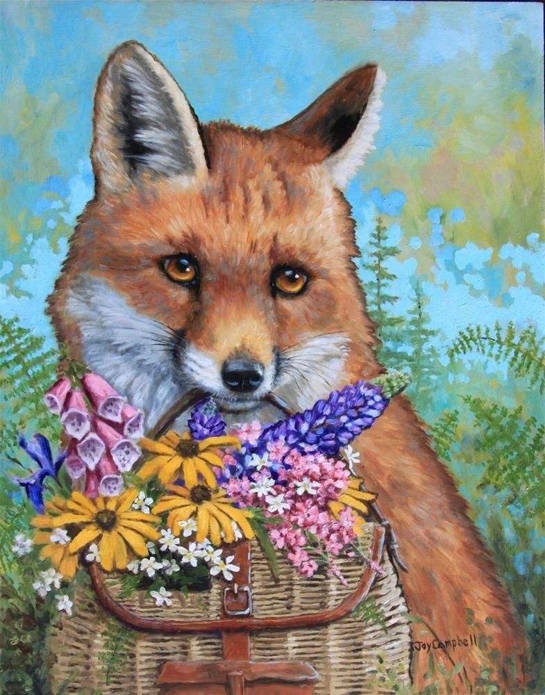 Открытки с лисичками