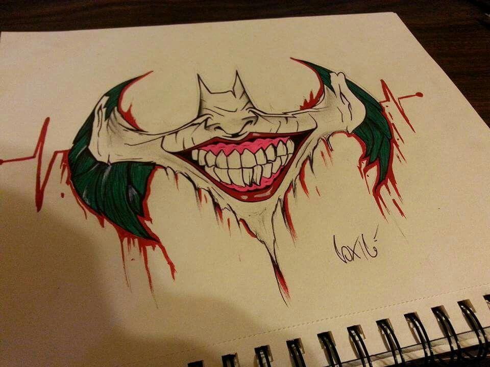 The Joker By Peter Landis With Images Joker Drawings Joker