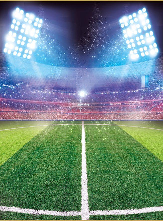 Advertising Posters Soccer Field Background Cartaz de