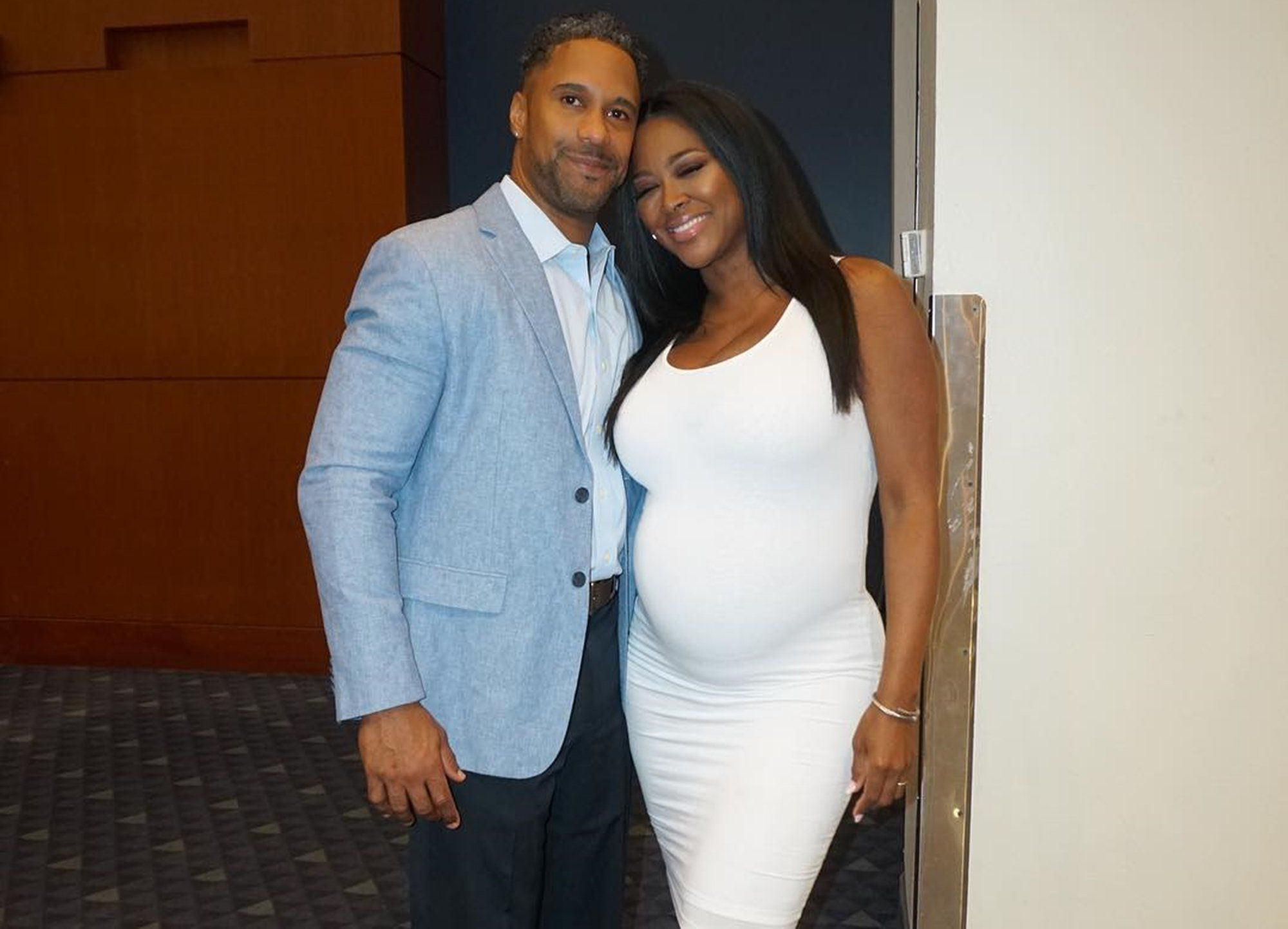 Kenya Moore Unveils PostBaby Body In New Picture — Marc