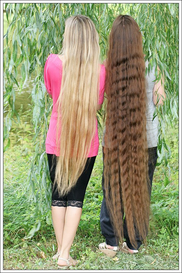 I think my ultimate hair goal is knee length (if I can get ...