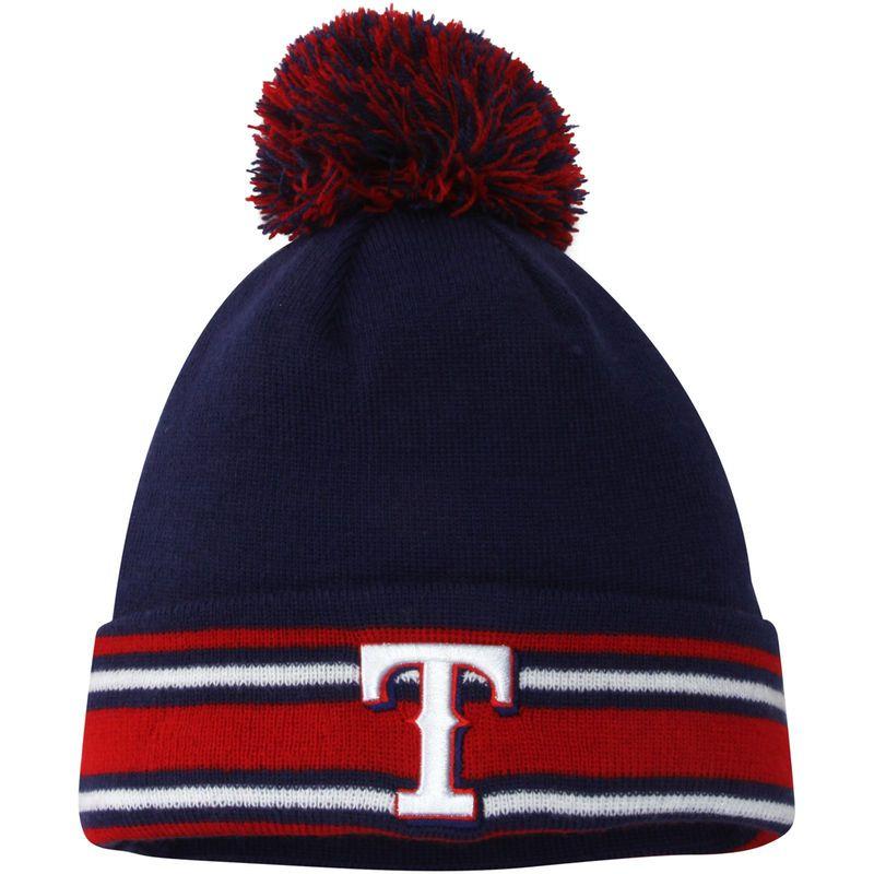 buy popular 2dd56 ebe1b Texas Rangers New Era Youth AC Sport Knit Hat - Royal Red