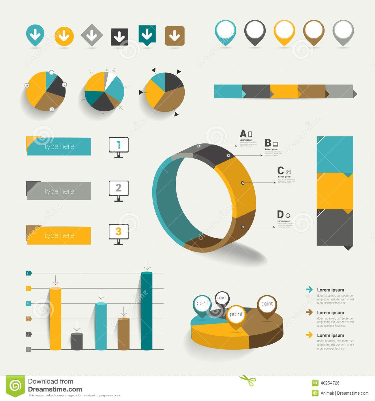 flat graphs charts - Hledat Googlem | LaY OuT ...