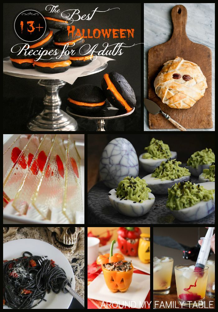The Best Halloween Recipes for Adults Halloween food for