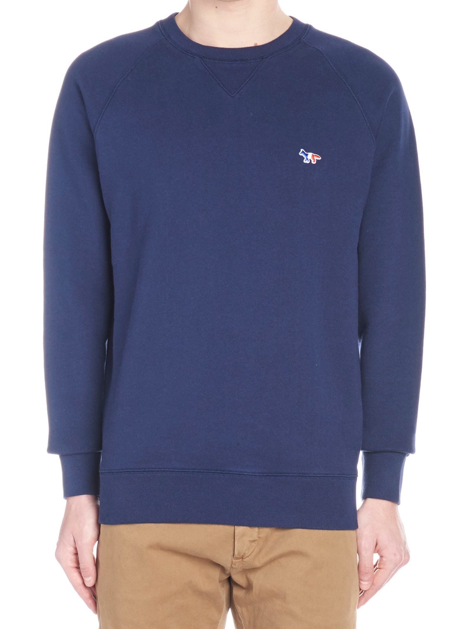 Maison Kitsune Sweatshirt Maisonkitsune Cloth Maison Kitsune Long Sleeve Tshirt Men Sweatshirts [ 2136 x 1600 Pixel ]