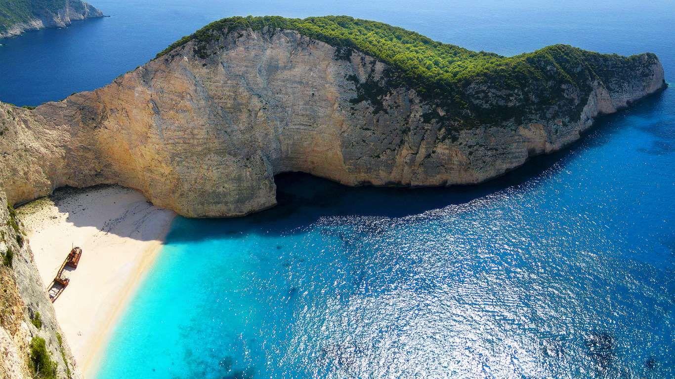 Navagio Beach Greece Nick Brundle Photography Getty Images Wallpaper Paisagem Viagem Paisagens