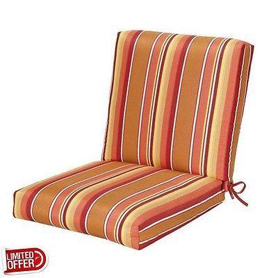 Sale Dolce Mango Sunbrella Outdoor Chair Cushion Dining Cushions 22