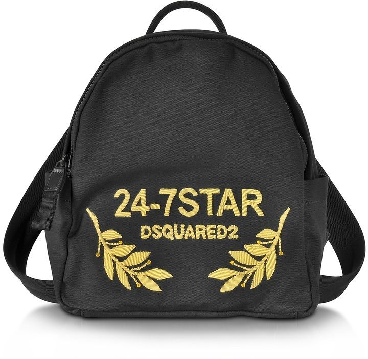 Icon canvas backpack Dsquared2