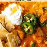 Chicken Tortilla Soup #chickentortillasoup Chicken Tortilla Soup - House of Yumm #chickentortillasoup