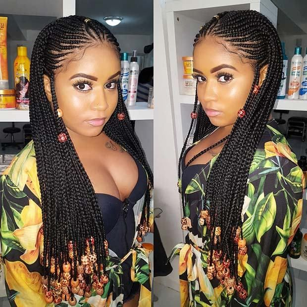 One Of The Must Have Hairstyles Of 2018 Are The Fulani Braids